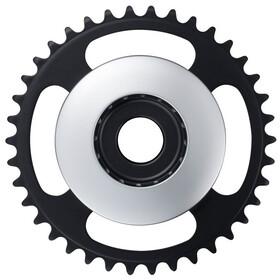 Shimano STEPS E6100 Zębatka rowerowa Cl: 46,5mm bez osłony łańcucha, silver